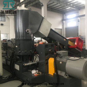 HDPE LDPE Film Recycling Machine Pelletizing Line