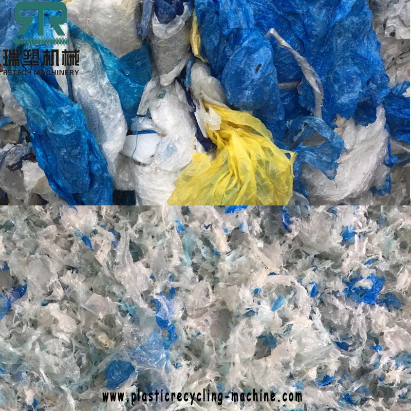LDPE Agriculture Film/ LLDPE Wrpping Stretch Film Washing and Recycling Machine Plant