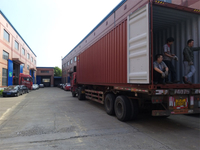 Plastic Extrusion machines and shredder crusher shipping to Uzbekistan customer