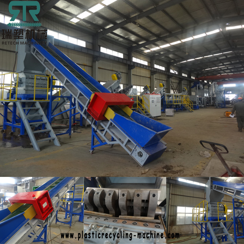LDPE film washing plant in south Asia