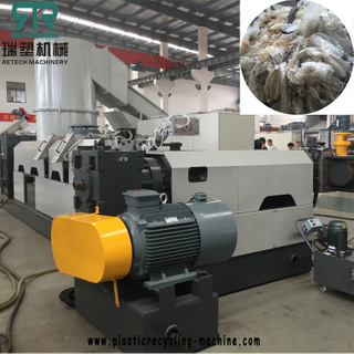 PP PE LDPE LLDPE BOPP stretch filmblown filmthermoforming sheetbreathable film pelletizing machine recycling plant pellets making machine.jpg