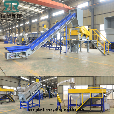 LLDPE LDPE PP multilayer flexible packaging film greenhouse covering film washing recycling granulating pelletizing production line
