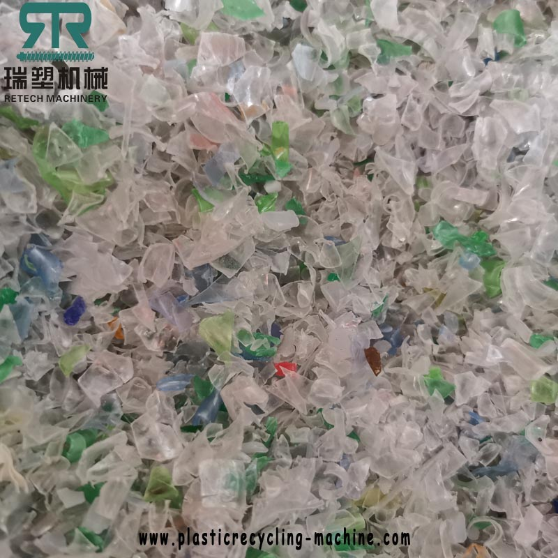 Plastic PP/PE/PET film bag flakes High Speed Friction Washer