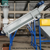 500KG/H LDPE agriculture film crushing cleaning washing squeeizing drying production line