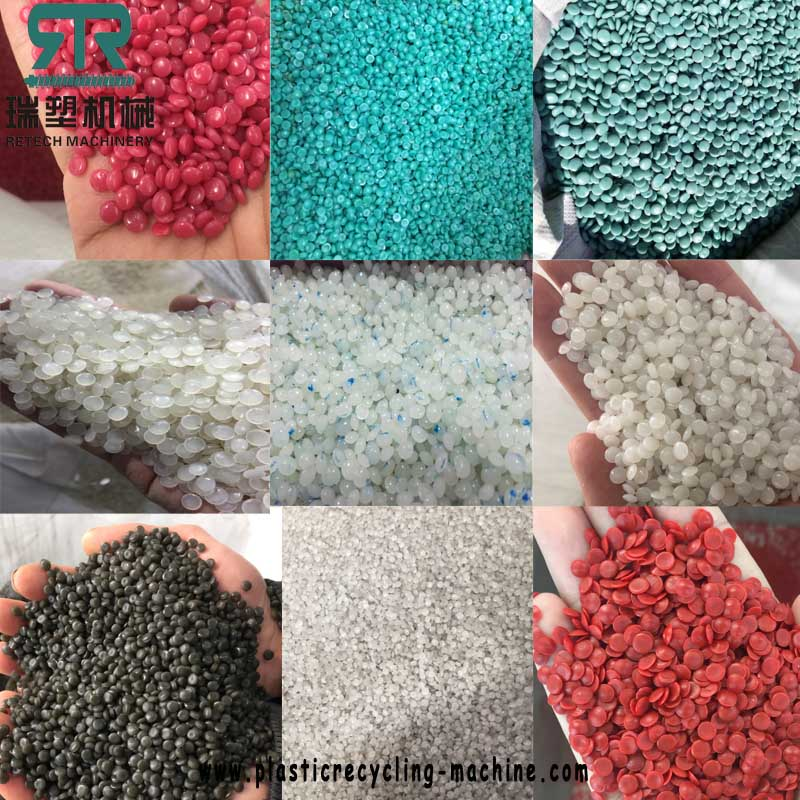 Plastic laminated multilayer recycling granules machine
